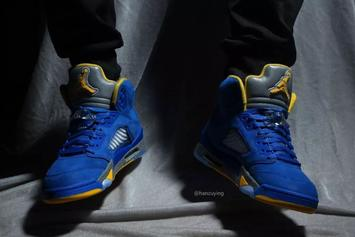 "All-New ""Laney"" Air Jordan 5 Launching Next Month: New Images"