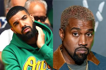 "Kanye West Rekindles Feud As Drake ""Re-Follows"" Kim Kardashian On Instagram"