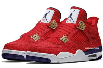 """FIBA"" Air Jordan 4 Rumored For July 2019 Release"