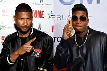 Yung Joc Responds To Usher's Perm With Side-By-Side Comparison Pics