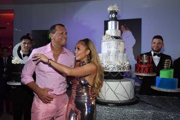 Jennifer Lopez & Alex Rodriguez Hit The Gym On New Year's