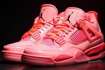 "Women's Air Jordan 4 NRG ""Hot Punch"" Release Details"