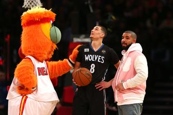 Drake Is Stoked On His Rising Hoop Skills: Watch