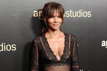 Halle Barry Is Shirtless In The Sahara In New Photo