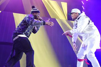 "50 Cent Co-Signs Chris Brown's New Song & Video For ""Undecided"""