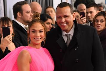 Jennifer Lopez Appears In Alex Rodriguez's New Podcast Promo