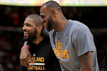 Kyrie Irving Describes Challenges Of Playing With LeBron James