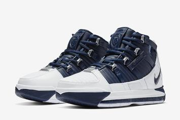 "Nike LeBron 3 ""White/Midnight Navy"" Rumored For Next Week"