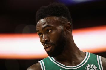 Celtics' Jaylen Brown, Marcus Morris Get Into Altercation During Timeout: Video