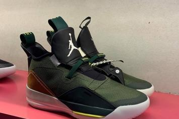 Travis Scott x Air Jordan 33 Surfaces: First Look