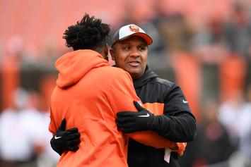 Hue Jackson Sacked By Cincinnati Bengals, His 2nd NFL Firing This Season