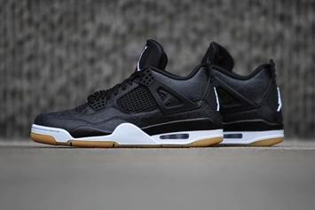 "Air Jordan 4 Black ""Laser"" Confirmed For This Weekend: New Images"