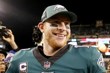 Carson Wentz Says His Back Issues Won't Be A Problem Next Season