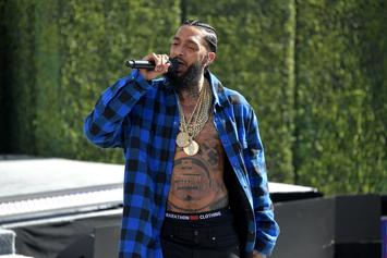"Nipsey Hussle Celebrates ""Victory Lap"" Grammy Nod With Jay-Z, Snoop Dogg, & T.I."