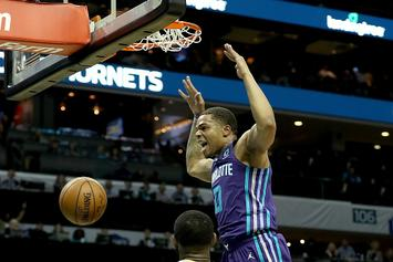 Hornets' Rookie Miles Bridges Coming For Dunk Contest Crown