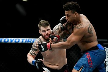 "Greg Hardy Says UFC Disqualification Was ""A Rookie Mistake"""