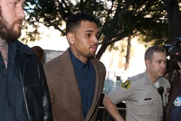 "Chris Brown Speaks For The First Time Since Arrest: ""I Love Everybody"""