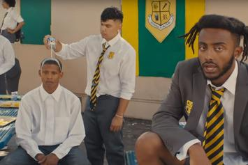 "Aminé Plays ""BLACKJACK"" In The Halls Of Civil Disobedience"