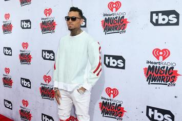Chris Brown's Girlfriend Ammika Harris Stays By His Side Amid Rape Allegations