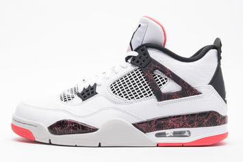 "Air Jordan 4 ""Light Crimson"" Release Date Announced"