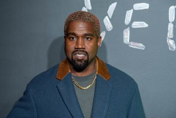 Kanye West Debuts New Tiger Print-Like Hairstyle