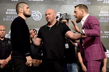 Khabib, McGregor Suspensions & Fines Announced For UFC 229 Brawl