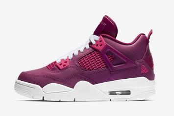 """Air Jordan 4 """"Valentine's Day"""" On Tap For Weekend Release"""