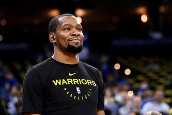 "Kevin Durant Rips Media: ""I Dont' Trust None Of Y'all"""