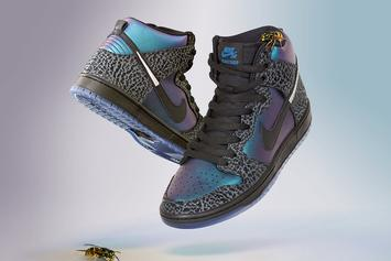 "Nike And Black Sheep Team Up For SB Dunk High ""Black Hornet"""