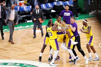 Rajon Rondo Buzzer-Beater Propels Lakers To Win Over Celtics: Watch