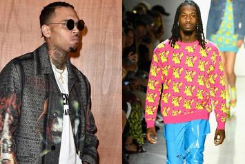 Chris Brown Releases Onslaught Of Offset Memes & Leaks His Own Address