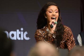 "Cardi B Is Elated After Daughter Kulture Finally Says ""Mama"""