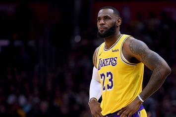"LeBron James Hit With ""Kobe's Better"" Chants During Hawks Game"