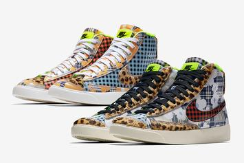 Nike Blazer Mid Gets Dressed In Some Stylish Prints