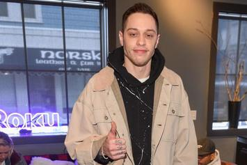 "Pete Davidson Gets ""Cursed"" Tattooed Over Ariana Grande Ink"