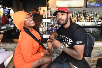 Lil Mo Snaps After Her Husband Gets Caught Creeping On Television