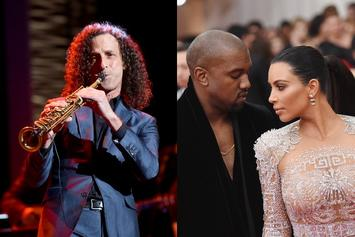 Kanye West Taps Kenny G To Perform Valentine's Serenade For Kim Kardashian
