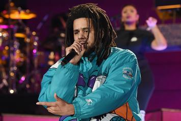 "J. Cole Performs ""Middle Child,"" ""A Lot"" & More During 2019 NBA All-Star Game"