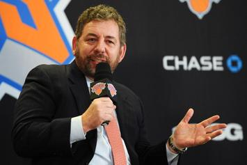 "Knicks' Owner James Dolan ""Courting Offers"" For Sale Of Team: Report"