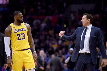 "Luke Walton Says Relationship With LeBron James Is ""Just Fine"""