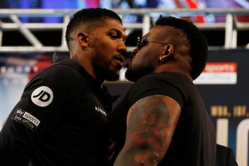 "Anthony Joshua Has A ""Rematch Clause"" In Contract Says Jarrell Miller"