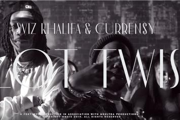 "Wiz Khalifa & Curren$y Release ""Plot Twist"" Music Video"
