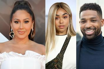 "Adrienne Bailon Says Jordyn Woods & Tristan Thompson Drama Is ""Absolutely True"""