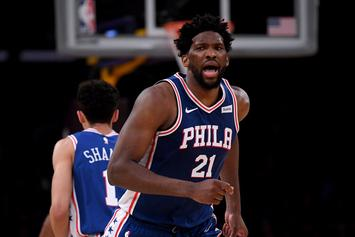 Joel Embiid Out For A Week With Sore Knee: Report