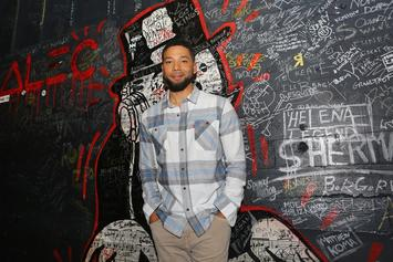 """Jussie Smollett Throws Shots At Trump In Scrapped """"Drop The Mic"""" Episode"""