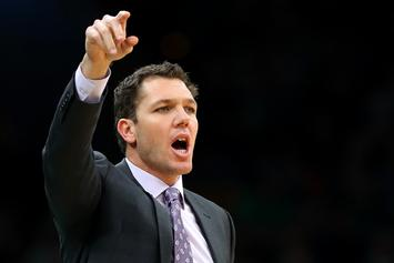Los Angeles Lakers Almost Leave Luke Walton Stranded In New Orleans