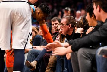 """Russell Westbrook On Being 'Hit' By Young Fan: """"You've Got To Control Your Kids"""""""