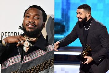 """Drake Claims Meek Mill Had """"The Best Comeback Of All Time"""""""