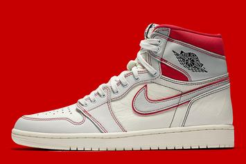 "Air Jordan 1 High OG ""Phantom"" Debuts This Weekend: Official Images"