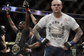 "Jon Jones Dominates Anthony Smith ""Start To Finish"" At UFC 235"